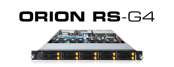 ORION RS-G4 Rackmount Servers