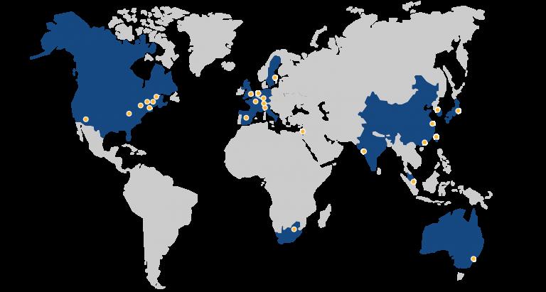 CIARA Worldwide Locations